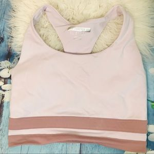 Forever21 pink sports bra Sz S